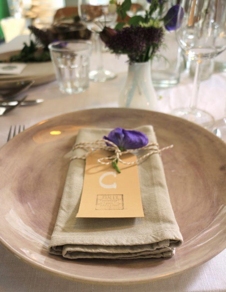 Eten van een Lekkere Tafel: Workshop tafelstyling