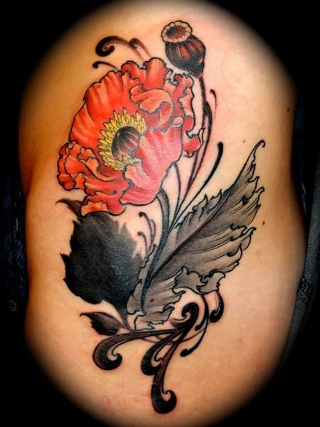 Poppy Flower Tattoo Meaning: Pin By Olivia Pois On Flower Tats/ Pics