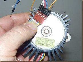 Identifying and using a stepper motor on Arduino