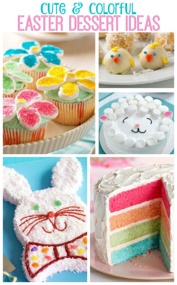 Cute and Easy Easter Dessert Ideas