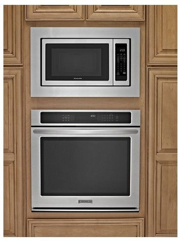 Mk2167as Kitchenaid 27 Trim Kit For 1 6 Cu Ft Countertop Microwaves Stainless Steel