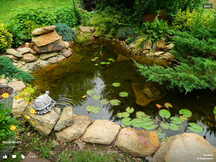 437 best small garden ponds images on pinterest | garden ideas ... - Small Patio Pond Ideas