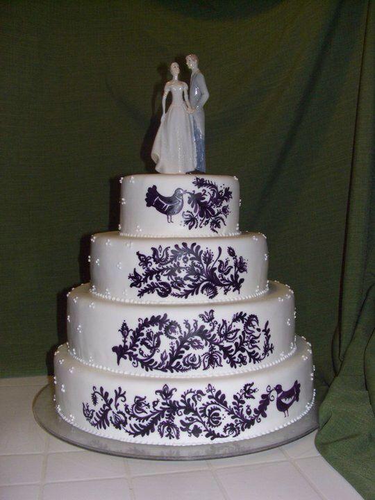 Hungarian wedding cake