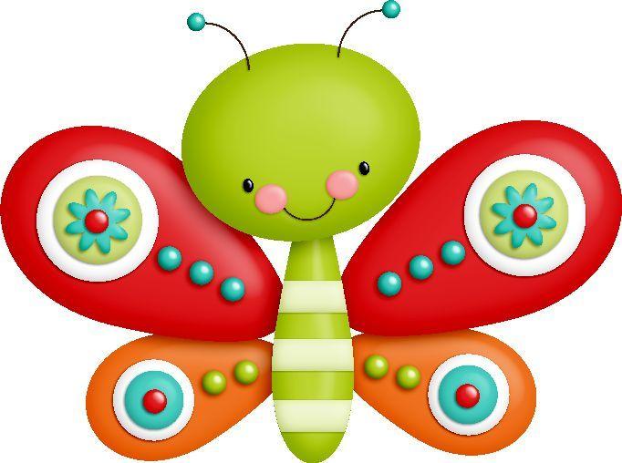 paisajes infantiles de mariposas - Buscar con Google