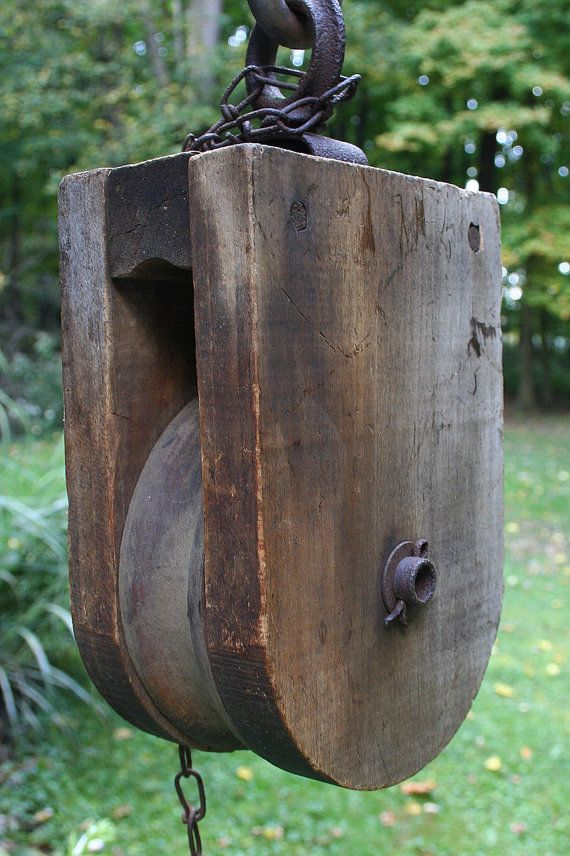 Pulleys Antique Looking : Best images about tattoos barn pulleys on pinterest