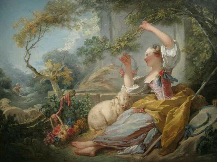 The Shepherdess J.H. Fragonard, 1752