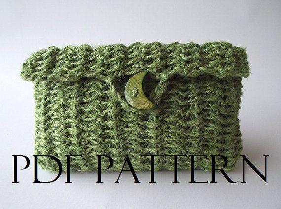 CROCHET BAG PATTERN Clutch Bag Pouch Bag by LiliaCraftParty  #crochet #bags