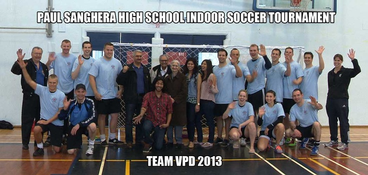 For 30 years, the Vancouver Police Soccer and Service Club have been participating in the Paul Sanghera High School Indoor Soccer Tournament, honouring a fallen member who tragically lost his life in a fatal car crash in 1982. The top high school players are rewarded with scholarships for their post-secondary education.