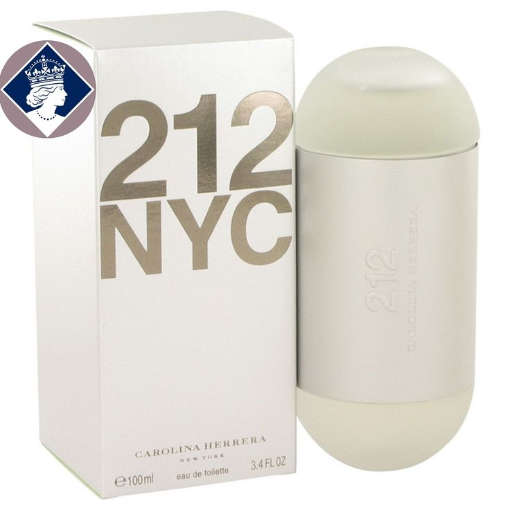 Carolina Herrera 212 NYC for Women 100ml/3.4oz Eau De Toilette EDT Perfume Spray