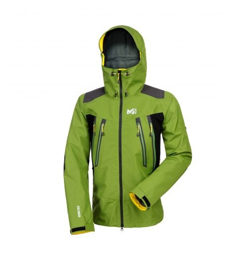 K Pro Gore-Tex jacket  Men's Millet protective jacket for alpinism.  A great durability for this alpinism 3 layer jacket with Gore-Tex technologies.