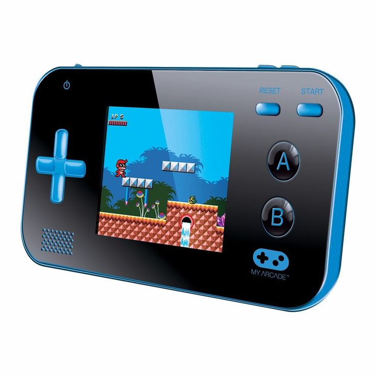 DG-DGUN-2888 My Arcade Portable 220 ready to play video Games Blue/Black #dreamGEAR