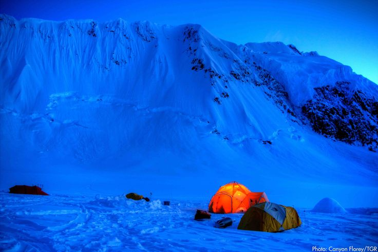 No tent has ever looked so bright and warm. SkiMag.com
