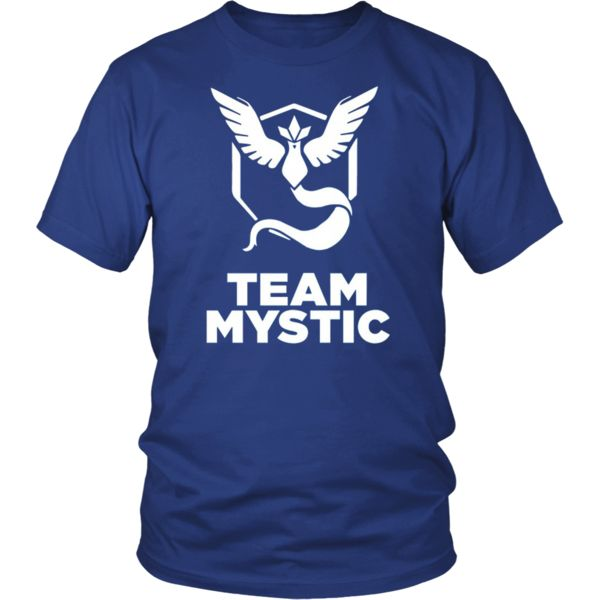 Team Mystic Logo Shirt, Hoodies