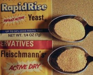 Ounces to teaspoons dry yeast