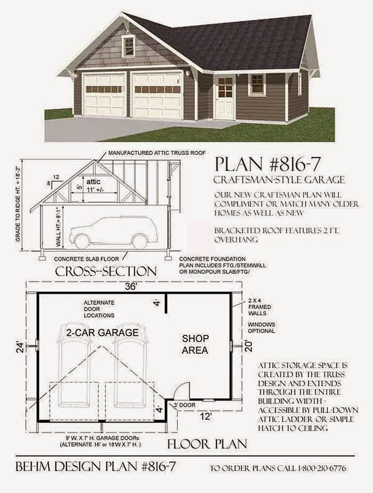 30 best 4 car garage plans images on pinterest car for The garage plan shop