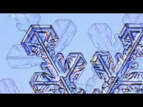 Snowflake Watching - Discovery TV video showing intricacies of snowflakes, no two alike.