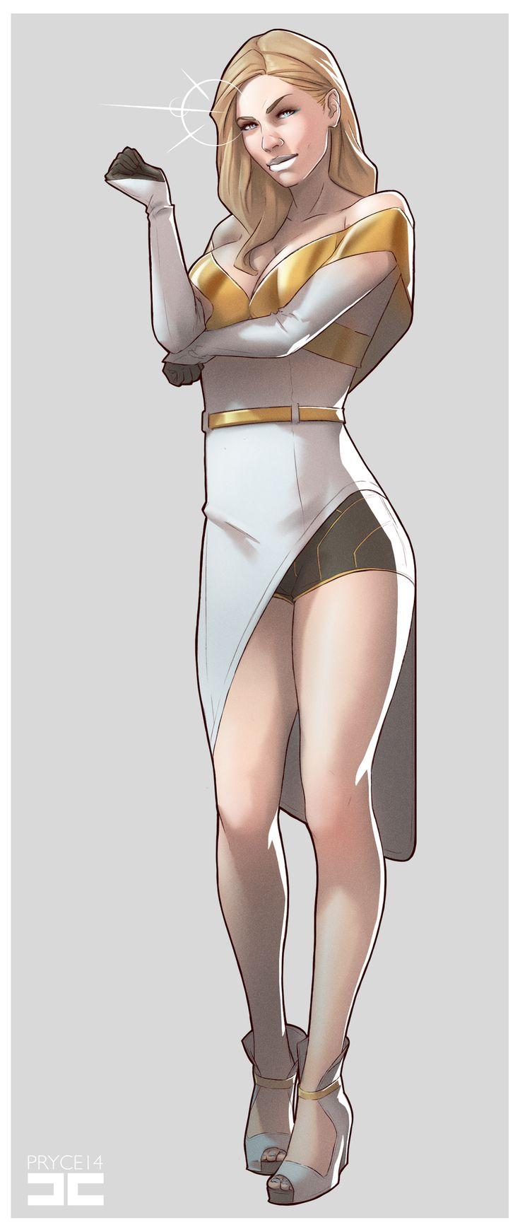 EMMA FROST by Pryce14.deviantart.com on @deviantART