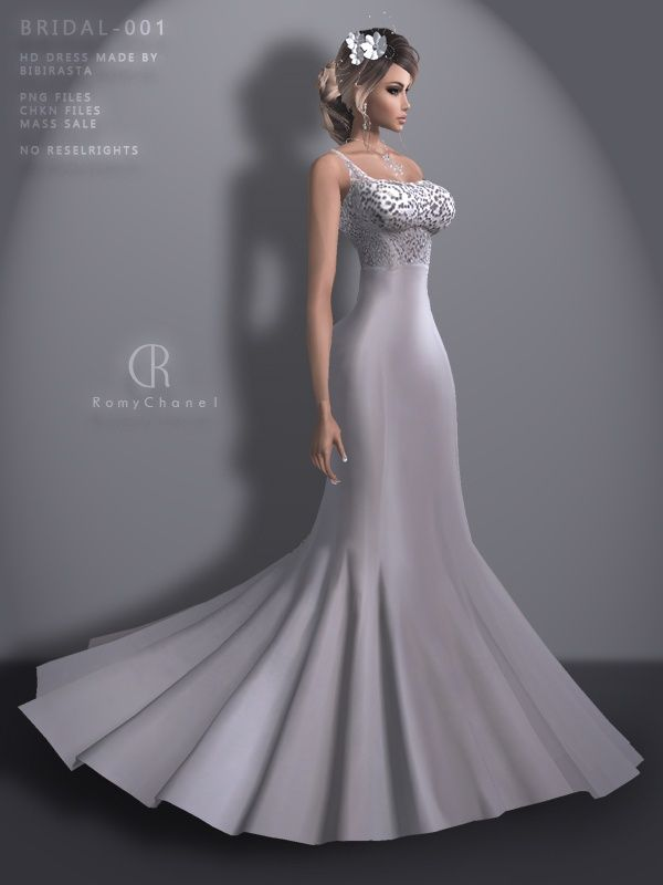 .:FREEBIE:.RC-BRIDAL-001Contains:4x .PNG Files4x .JPG Files1x .CHKN File1x. Read Me FileDIRECT DERIVATION LINK:http://www.imvu.com/shop/product.php?products_id=30265175Purchasing any of my textures you automatically comply with the folliwing rules:You are only allowed to use my textures on one acco