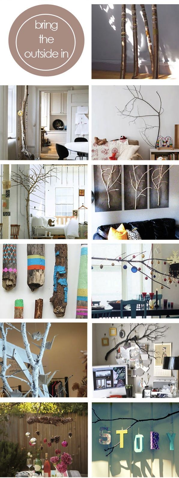 Repurposing Tree Branches