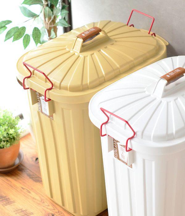 タフでおしゃれな大容量のゴミ箱。ゴミ箱 PALE×PAIL 60L おしゃれ ペール×ペール 日本製 3年保証 キッチン 北欧 オシャレ 分別 大容量 ふた付き フタ付き ナチュラル ベランダ 屋外