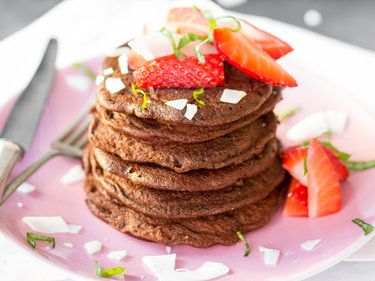 Low-Carb-Pancakes 'Double Chocolate Chip'