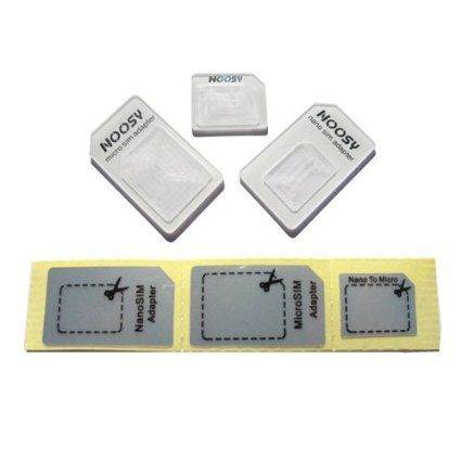 iCoolkit New iPhone Nano SIM Card to Micro /Stander/ full SIM card Tray Adapter Holder