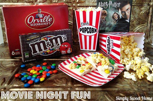 Movie Night Fun #MovieNight4Less #ad
