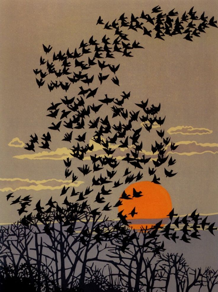 wasbella102: Cutting Away: The Linocuts of Robert Gillmor indigodreams: