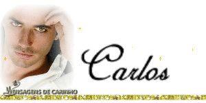 MUITO LINDO: CARLOS