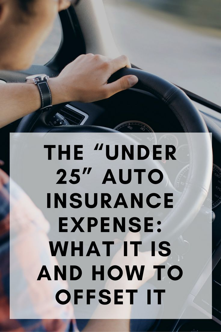 """The """"Under 25"""" Auto Insurance Expense: What It Is And How ..."""