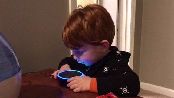Amazon Alexa helpfully tries to give porn to a child