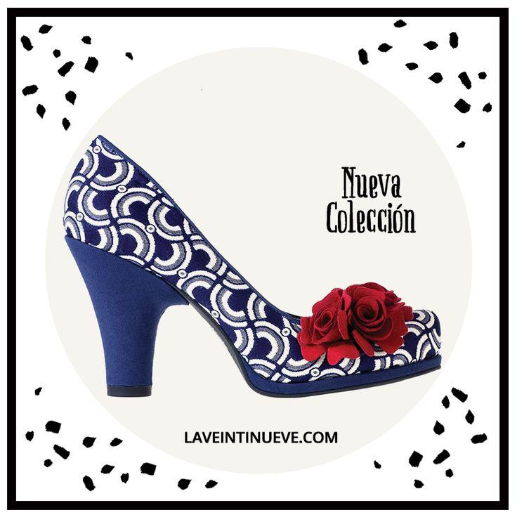Chic #retro #heels #spain #laveintinueve #boutique #gotico