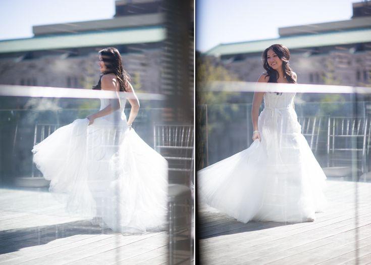 Gardiner Museum bride
