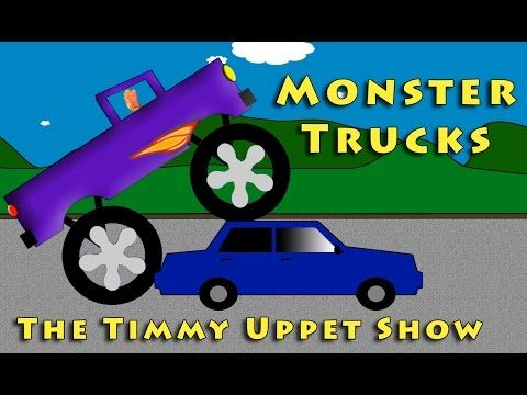 The Timmy Uppet Show - Monster Truck Videos For Kids - YouTube