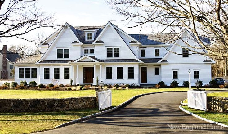 Дизайн интерьера: дом в Новой Англии