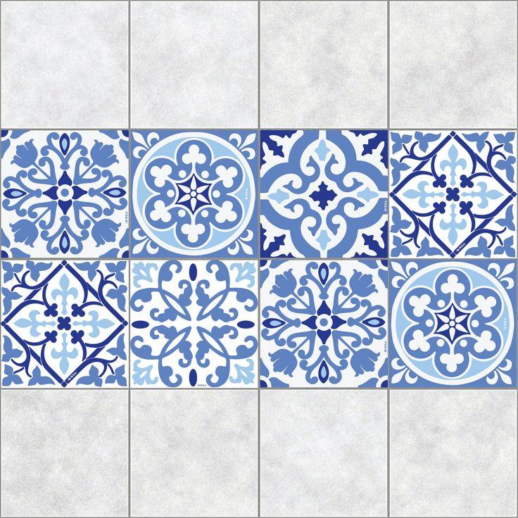 Azulejos autoadhesivosde fácil aplicación y adaptables a cada ambiente del hogar. Pensados para agregar un detalle de diseño y creatividad en donde se te ocurra! Idealespara renovar viejos azulejos de la cocina o el baño, agregarle color a las paredes y/o ponerle onda a las escaleras!  Cantidad: 6 unidades Medidas: 15x15