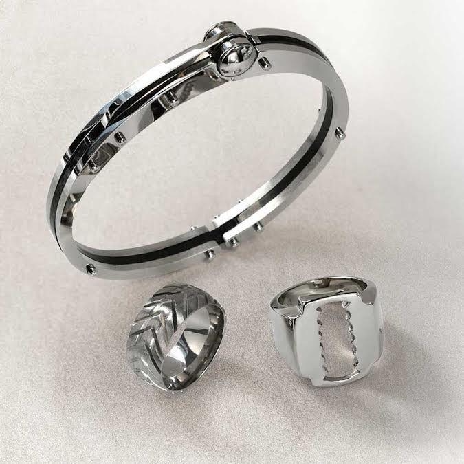 Mens fetish jewelry