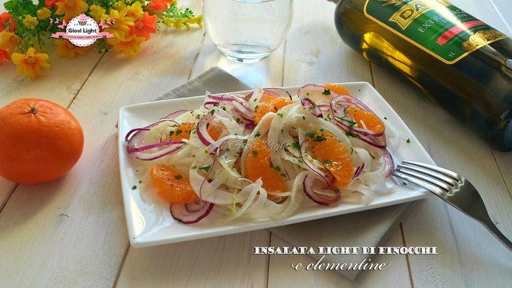 Insalata+light+di+finocchi+e+clementine+(90+calorie)
