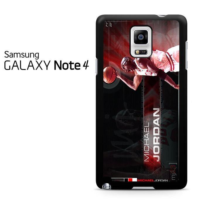 Michael Jordan Samsung Galaxy Note 4 Case