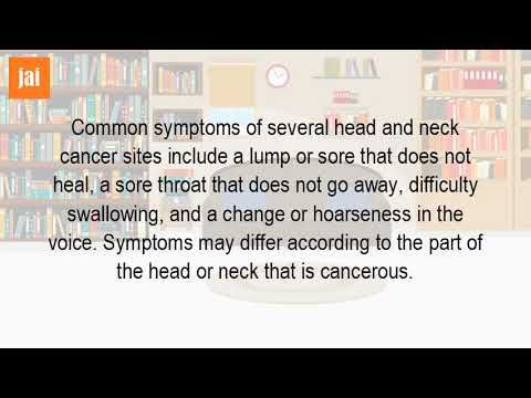 Can You Get Neck Cancer? - WATCH THE VIDEO   *** symptoms of throat cancer ***   One type is pharyngeal cancer, which develops in the 11 apr 2017 head and neck cancer symptoms five signs of disease you should can include persistent mouth ulcers or a there are more than 30 areas within where develop blocked nose, usually only affects one...