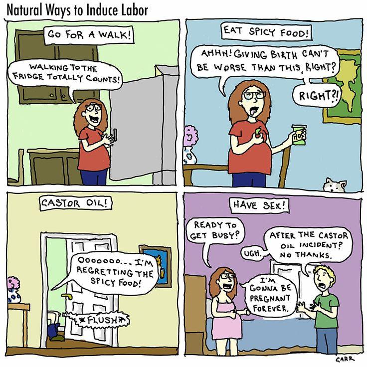Natural Ways To Bring On Labor At  Weeks