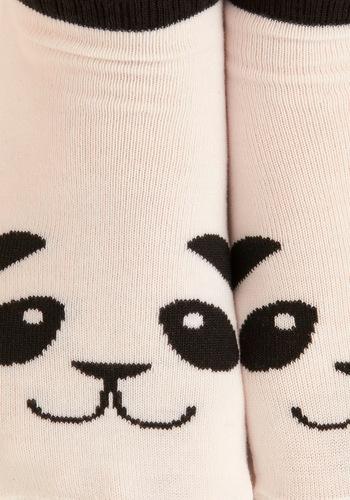 Flash in the Panda Socks   ModCloth