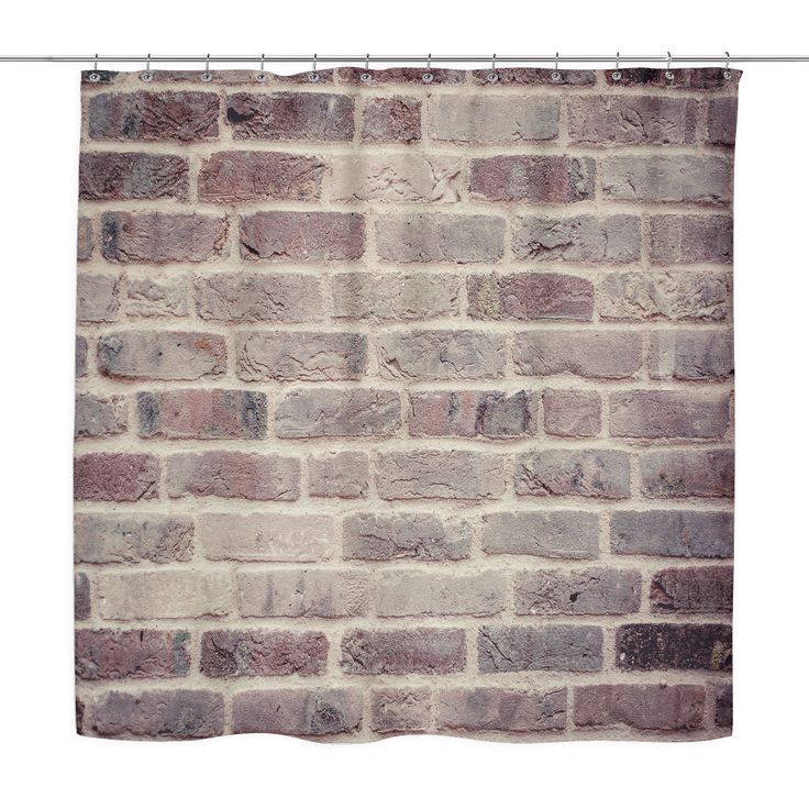 Brick Wall Shower Curtain 234 best Beautiful