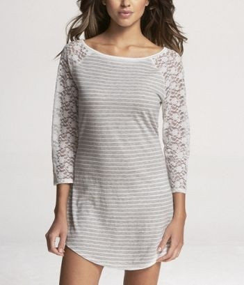 cute nightgown- I pair it with leggings for lounging around the house