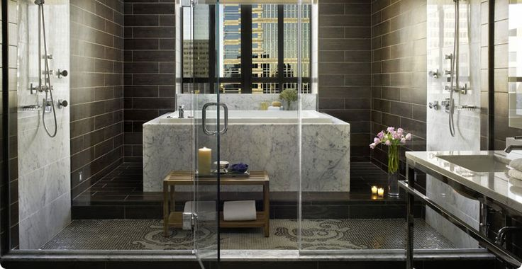 Hotel palomar philadelphia presidential suite bathroom for Best bathrooms ever
