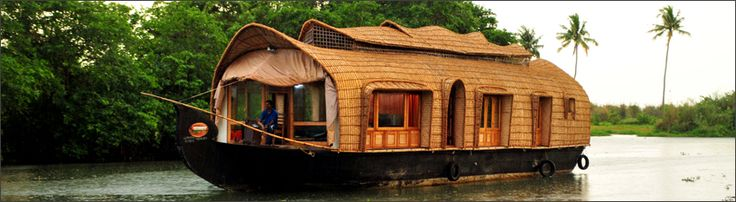 Parthasarathy luxury #Houseboats is a popular houseboat provider in #Alleppey. It is located at a distance of around 6 km from the Alleppey Railway Station and 84 km from the Cochin International Airport. #travel #wanderlust