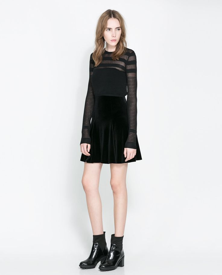 17 Best images about Black Velvet Skirt on Pinterest | Black ...