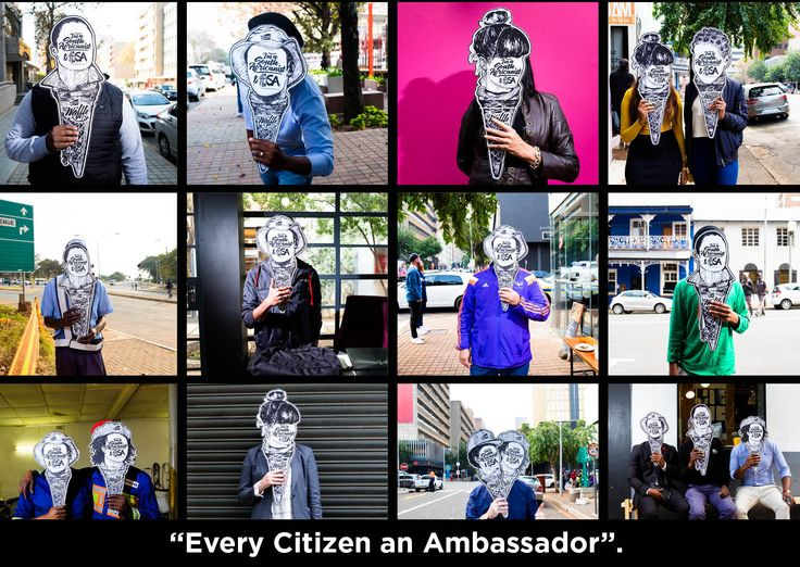 """I have a dream, to see SA embracing the concept of active citizenship. Every citizen of my country seeing themselves as """"ambassadors""""  patriotic and passionate about their, hoods, kasi, dorpies, towns, provinces and our country.  An """"ambassador"""" puts the needs of their country before theirs, from business, education, health, finance, sports, communities and our homes."""