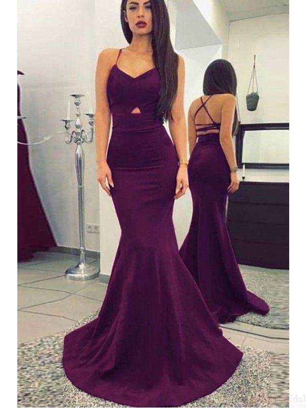 prom dresses 2017, long prom dresses,sexy prom dresses,mermaid prom dresses, spaghetti straps evening dresses, pageant dresses #SIMIBridal #promdresses