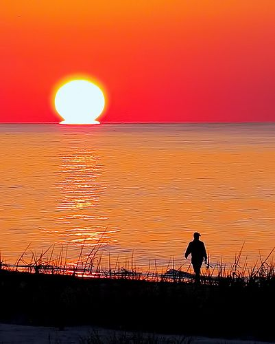 Sunrise Fishing Grand Isle, Louisiana
